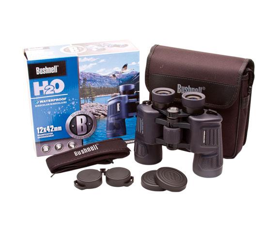 Комплект поставки бинокля H2O 12x42