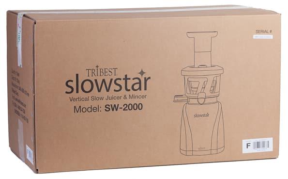Соковыжималка Tribest Slowstar SW-2000, транспортировочная коробка на обзоре IXBT