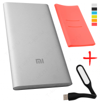 xiaomi mi power bank 5000 розовый