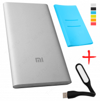 xiaomi mi power bank 5000 голубой