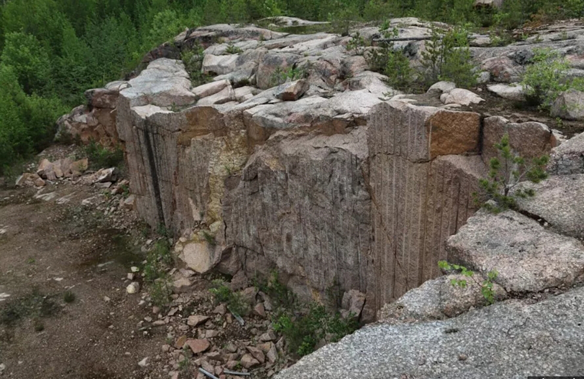 Гранит Кашина Гора карьер