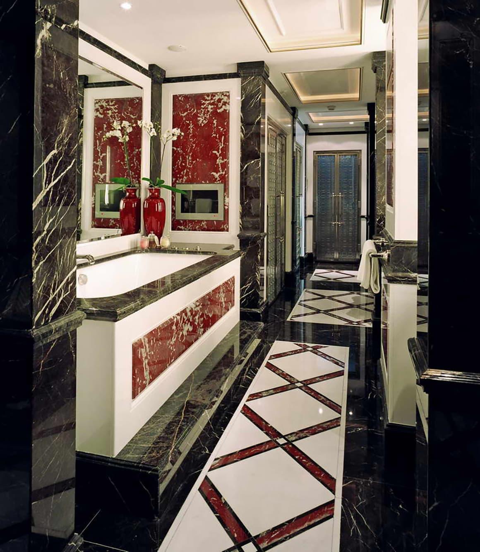 Красный мрамор Россо Франция