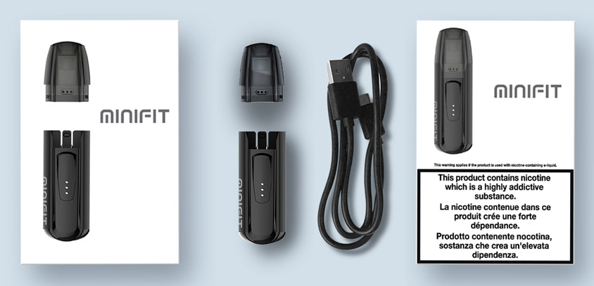 Комплектация JUSTFOG Minifit Kit